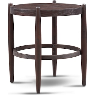 Farrah End Table - Brown