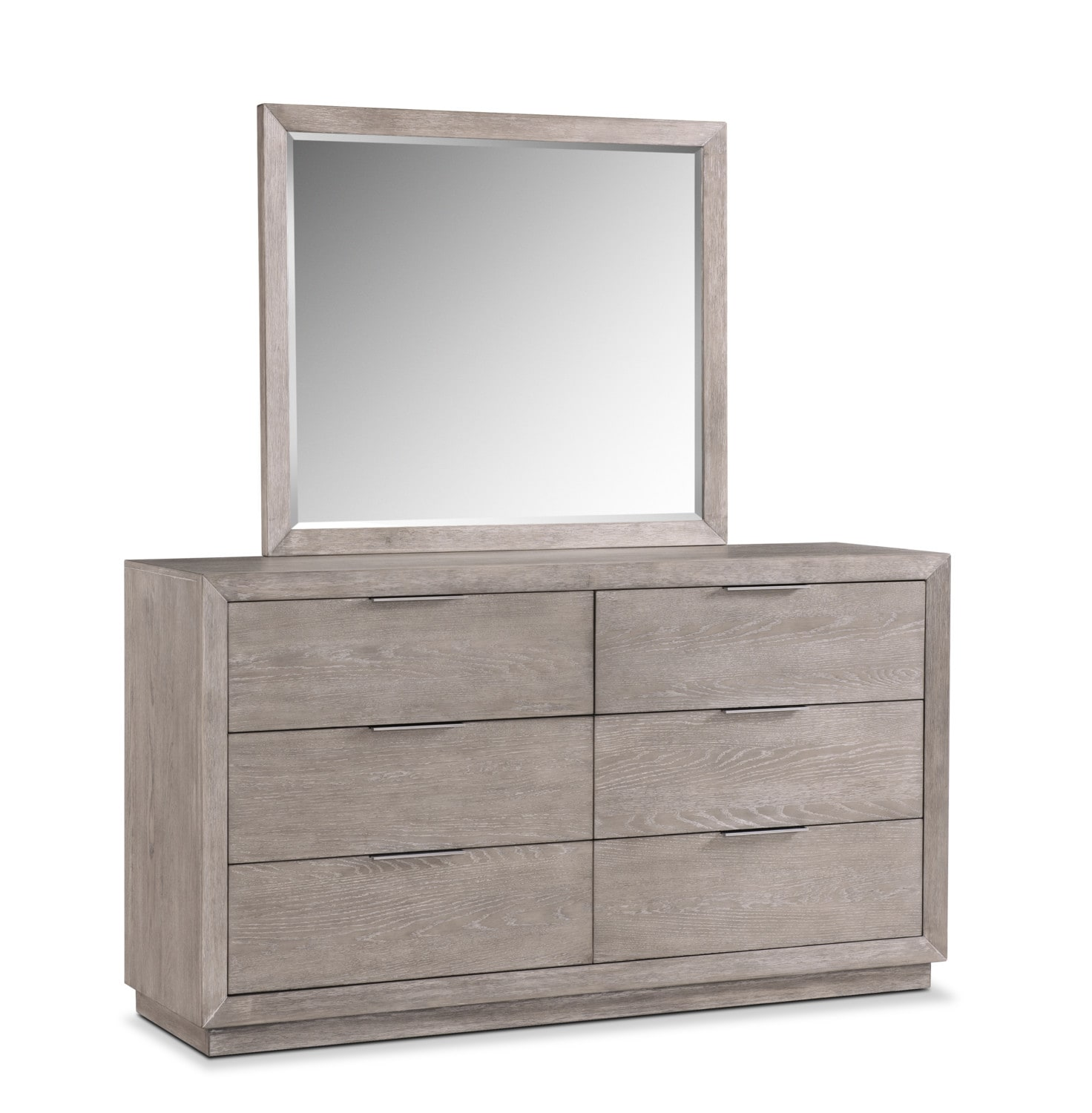 Bedroom Furniture - Zen Dresser and Mirror