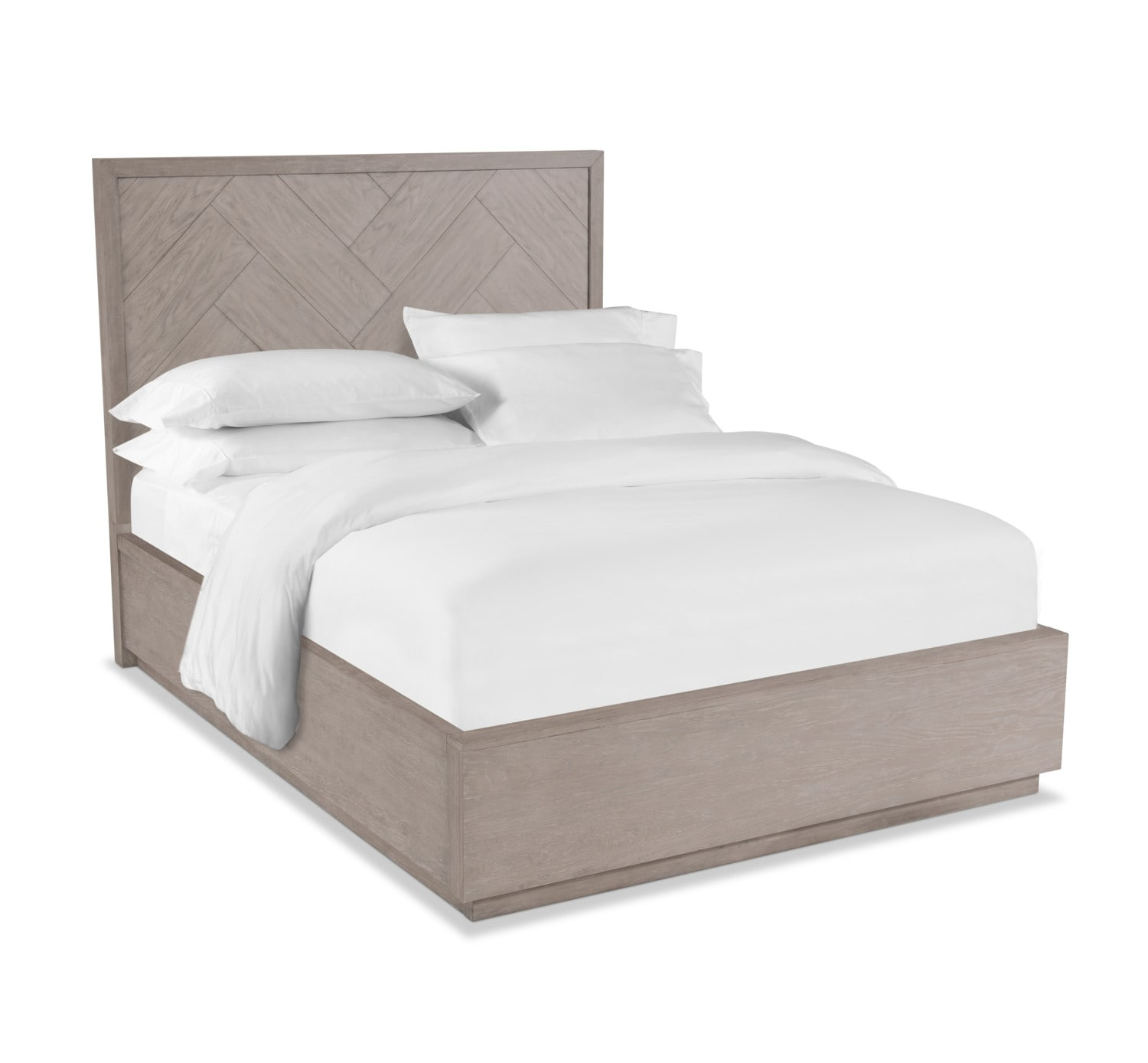 Bedroom Furniture - Zen Queen Bed - Urban Gray