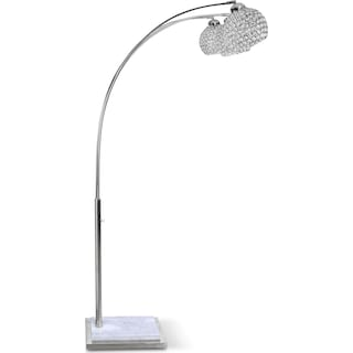 Arc Floor Lamp - Crystal