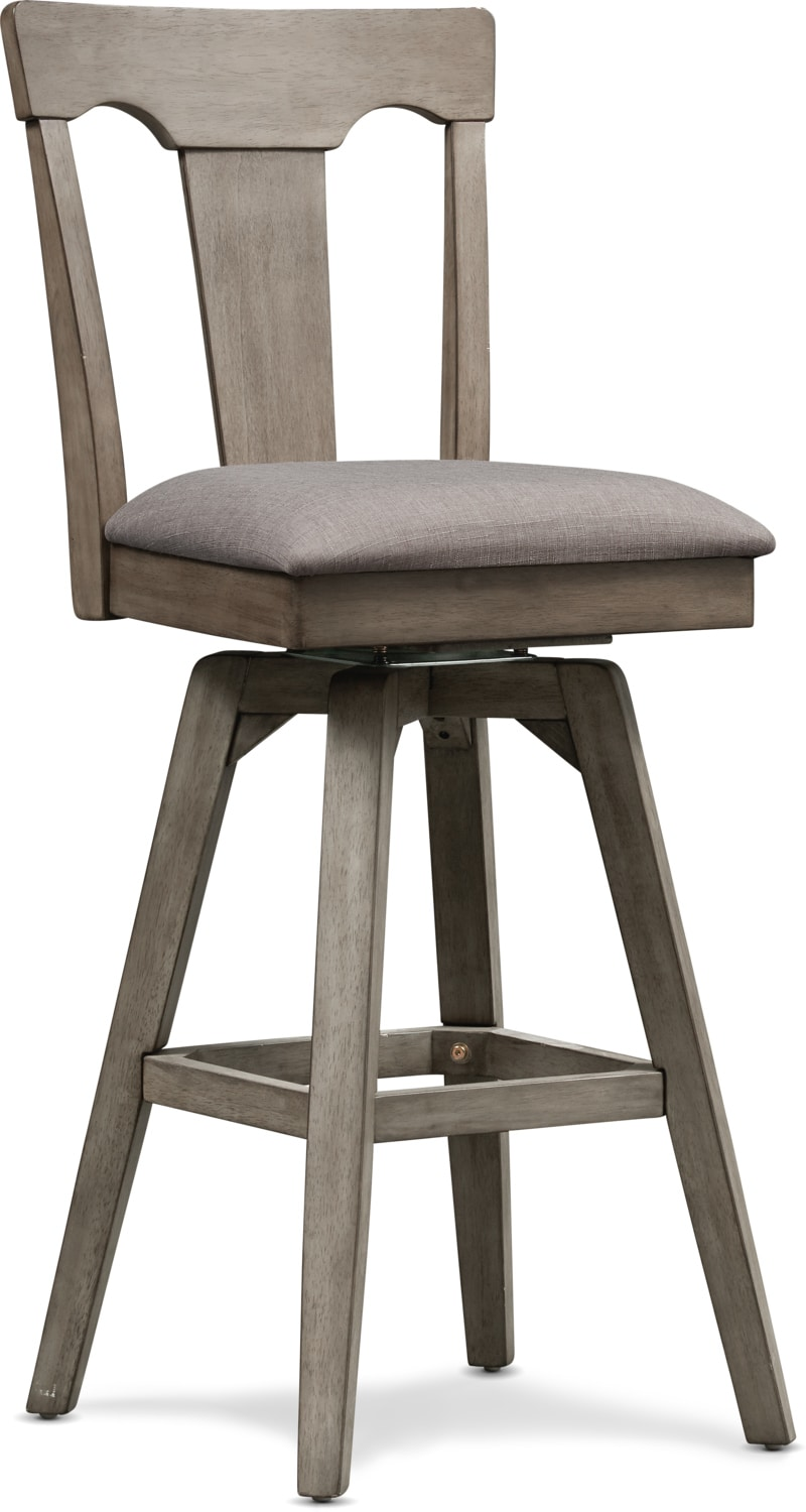 Dining Room Furniture - Maxton Barstool - Graystone