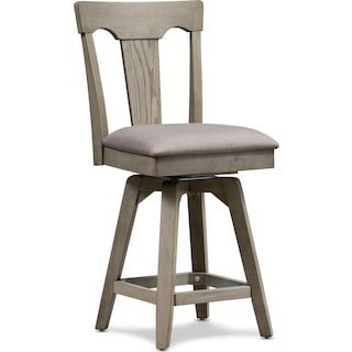 Maxton Counter-Height Stool - Graystone
