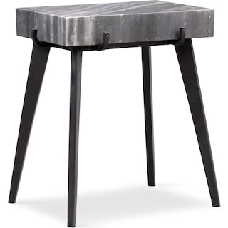Mod Rectangular Accent Table - Marble