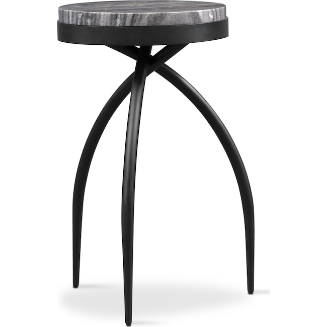 Accent and Occasional Furniture - Mod Round Accent Table - Marble