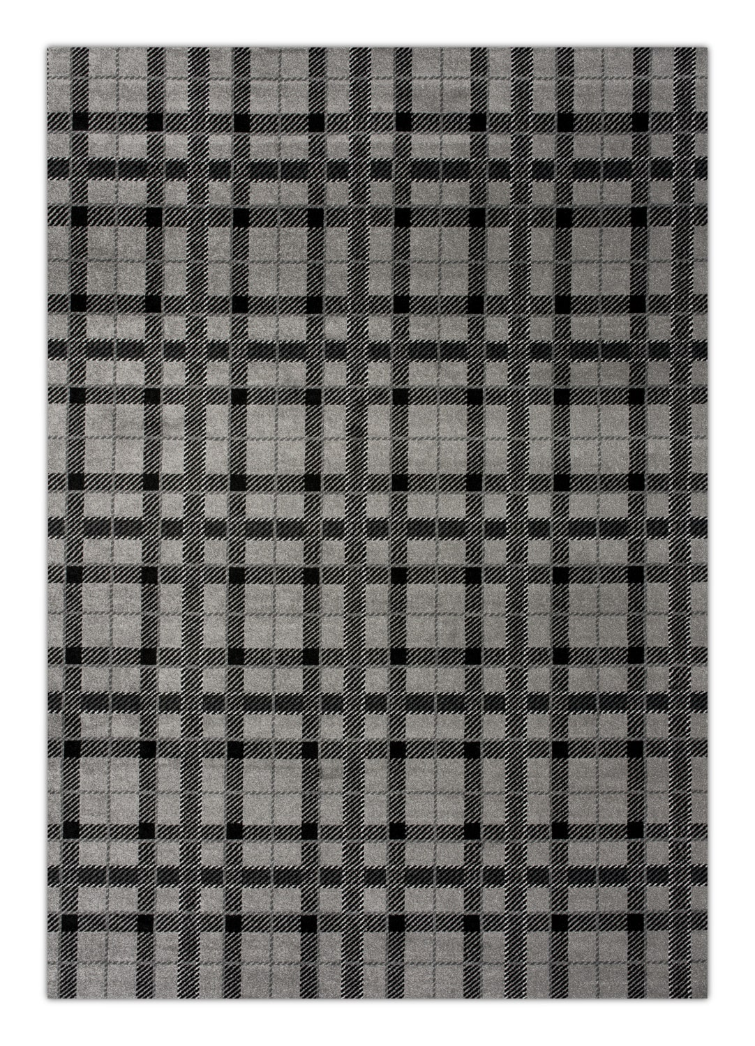 Rugs - Twist Area Rug - Gray