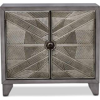 Olivia Cabinet - Silver