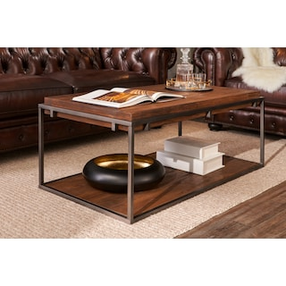 Woodford Coffee Table - Dark Brown