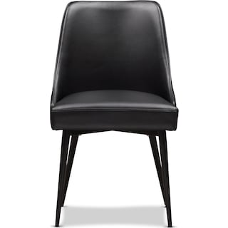 Lillian Upholstered Side Chair - Black