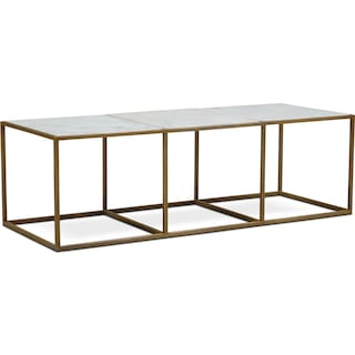 67f2b2a02a1b3 Tap to change Evie Coffee Table - Marble ...