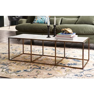 Evie Marble Coffee Table