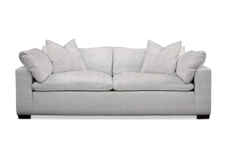 Living Room Furniture - Plush Sofa