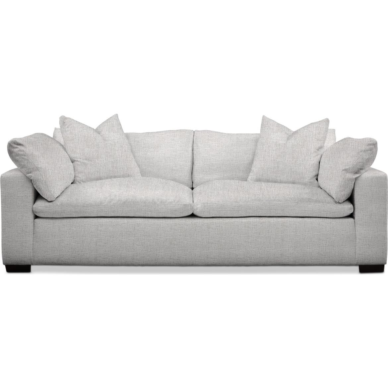 Plush Sofa   Value City Furniture and Mattresses