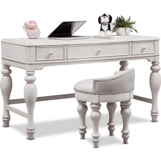 Florence Vanity Desk and Stool