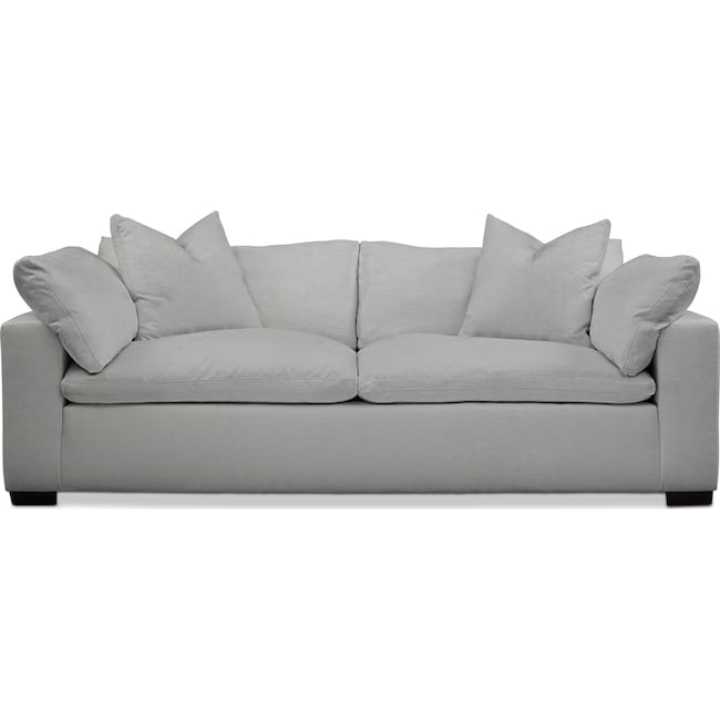 Living Room Furniture - Plush Sofa
