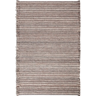 Lifestyle 8' x 10' Area Rug - Gray/Brown/Ivory