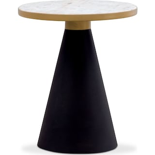 TOV Gorgeous End Table - Marble