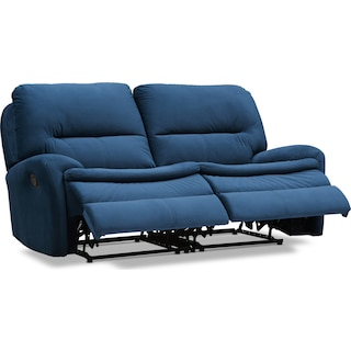 Cruiser 2-Piece Manual Reclining Loveseat - Ink