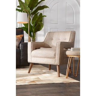 Shelby Accent Chair - Beige