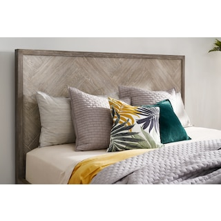Zen King Storage Bed - Urban Gray