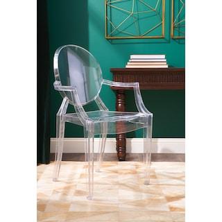 Lillian Arm Chair - Clear