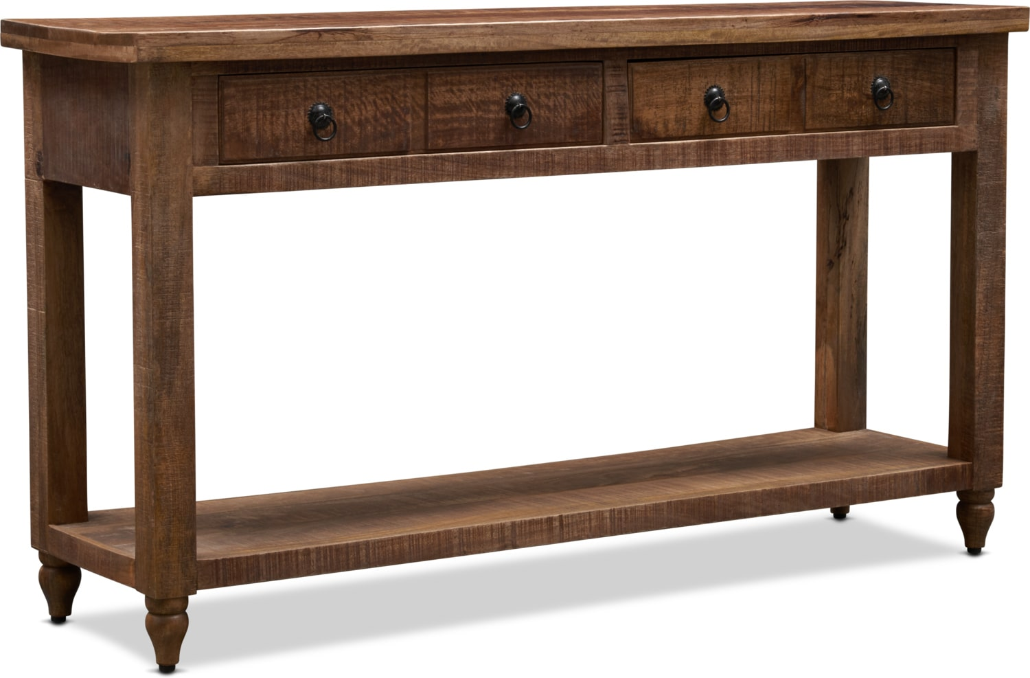 Accent and Occasional Furniture - Ellis Sofa Table - Natural