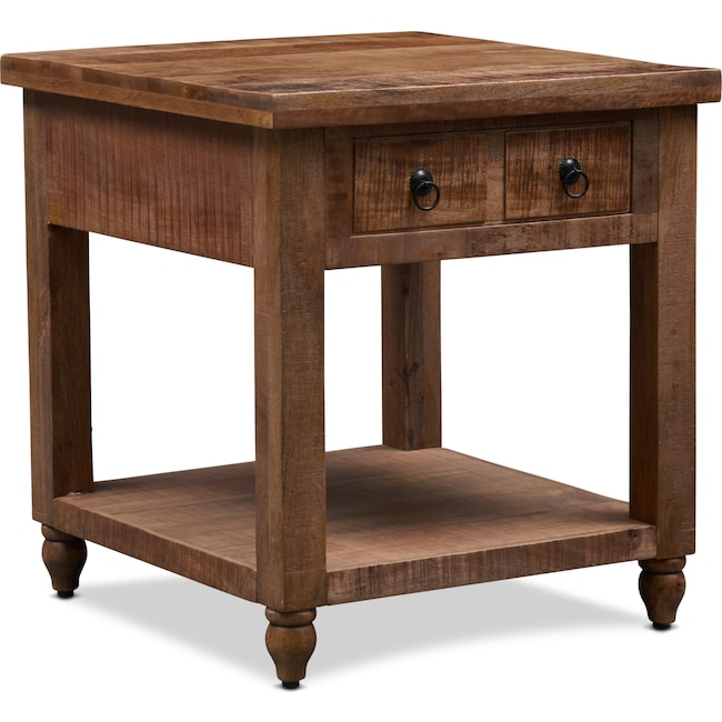 Accent and Occasional Furniture - Ellis End Table - Natural