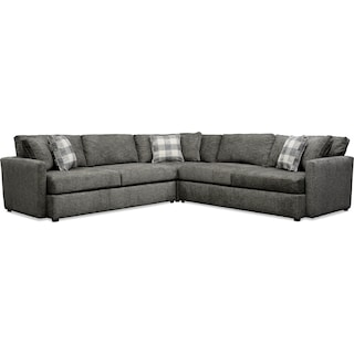Garrett 3-Piece Sectional - Gray