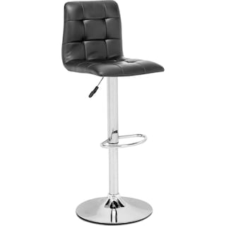 Huron Bar Stool - Black