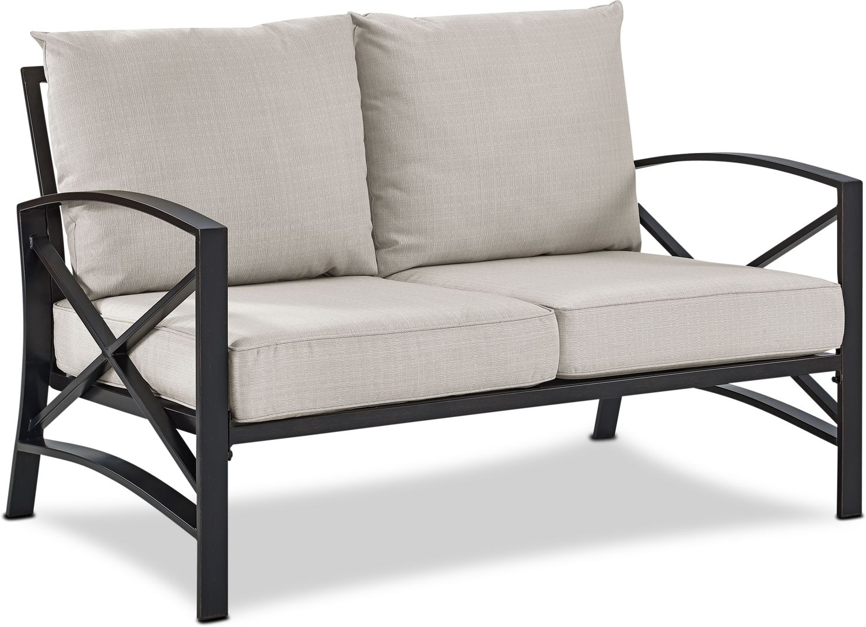 Outdoor Furniture - Clarion Outdoor Loveseat
