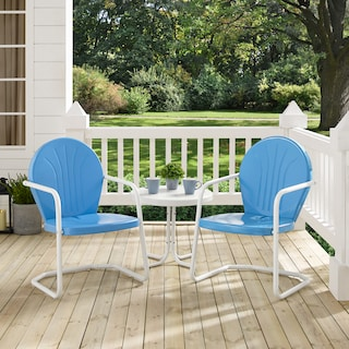 Kona Set of 2 Outdoor Chairs and Side Table