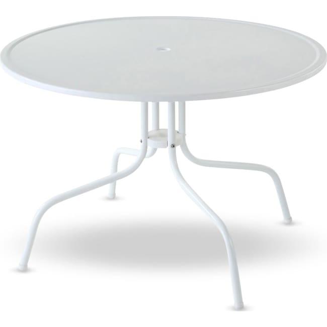 Outdoor Furniture - Kona Outdoor Bistro Table - White