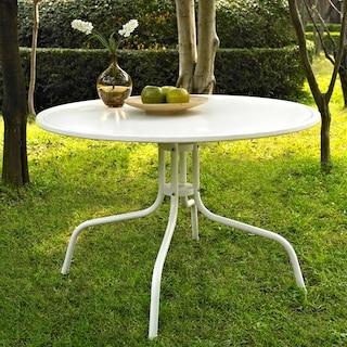 Kona Outdoor Bistro Table - White