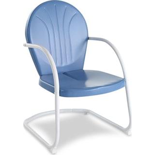 Kona Outdoor Bistro Chair - Blue