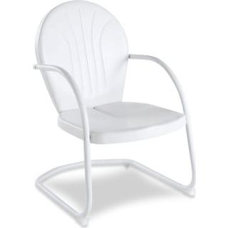 Kona Outdoor Bistro Chair - White