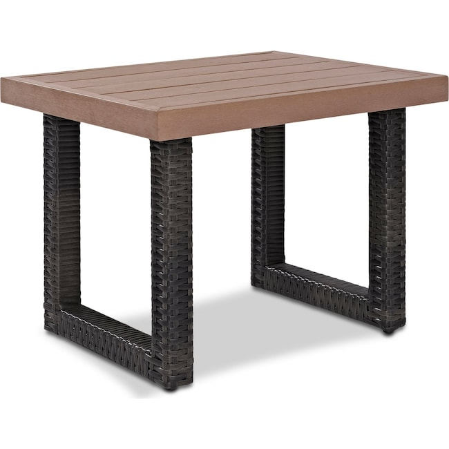 Outdoor Furniture - Tethys Outdoor End Table