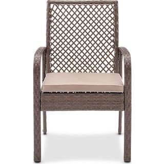 Zuma Outdoor Chair - Gray