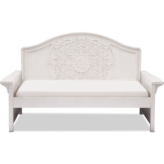Bedroom Furniture - Florence Twin Daybed - Antique Linen