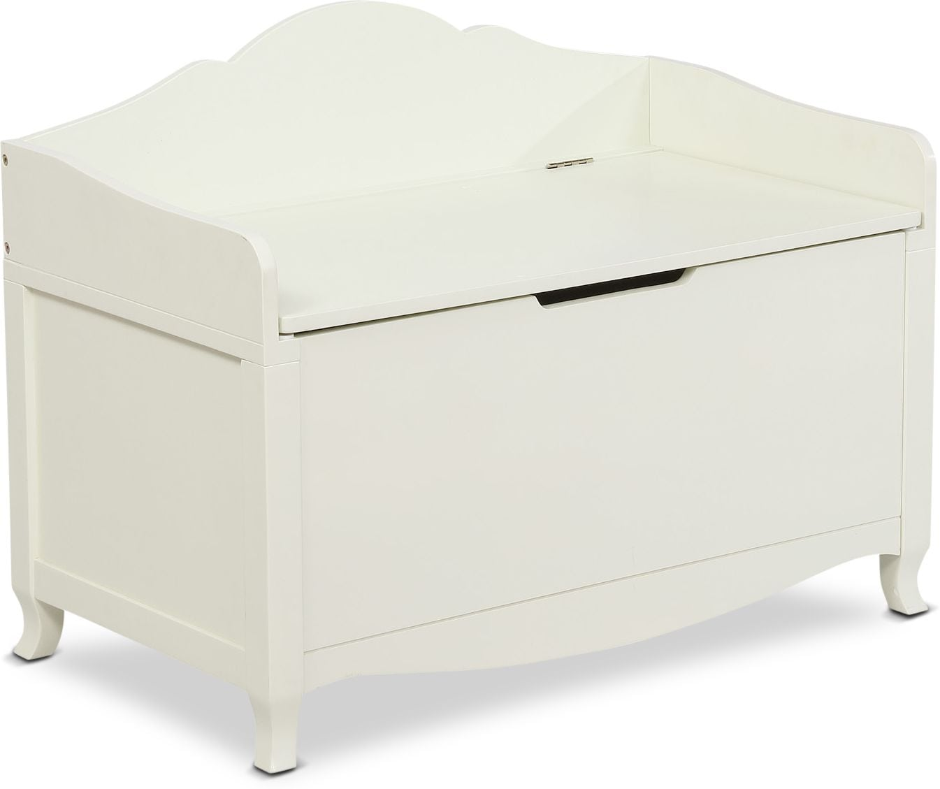 Kids Furniture - Kendall Youth Storage Chest - White