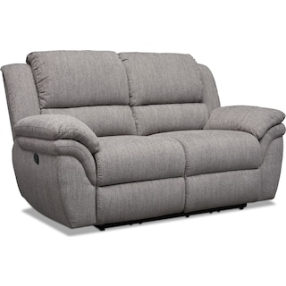 Aldo Manual Reclining Loveseat