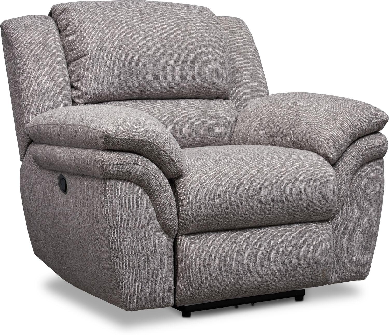 Living Room Furniture - Aldo Manual Recliner