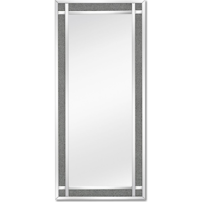 Home Accessories - Crystal Floor Mirror