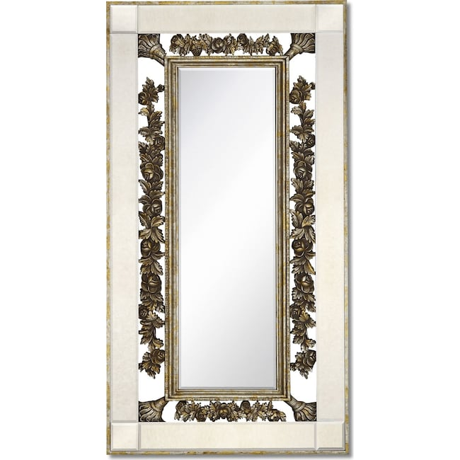 Home Accessories - Antique Floor Mirror