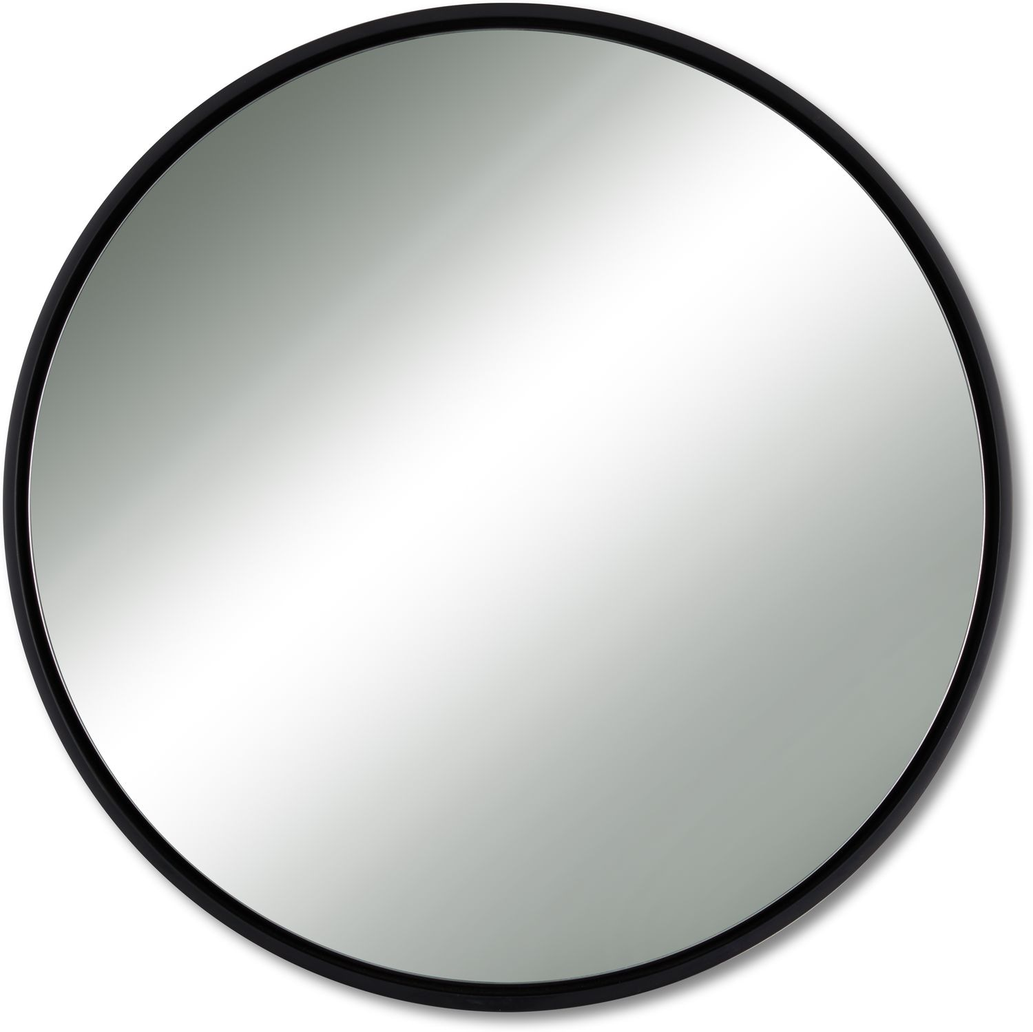 Home Accessories - Minimal Wall Mirror - Black