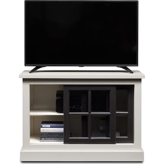 """Providence 40"""" TV Stand - White"""