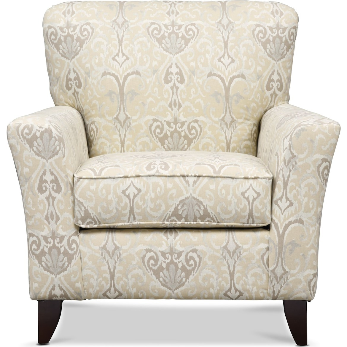Carla Gray Accent Chair I Value City Furniture: Carla Sofa, Loveseat, And Accent Chair Set