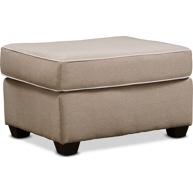 Living Room Furniture - Carla Ottoman