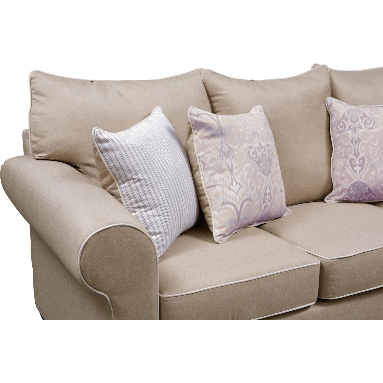 Carla Queen Innerspring Sleeper Sofa Loveseat And Chair