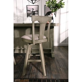 Maxton Bar Stool - Graystone
