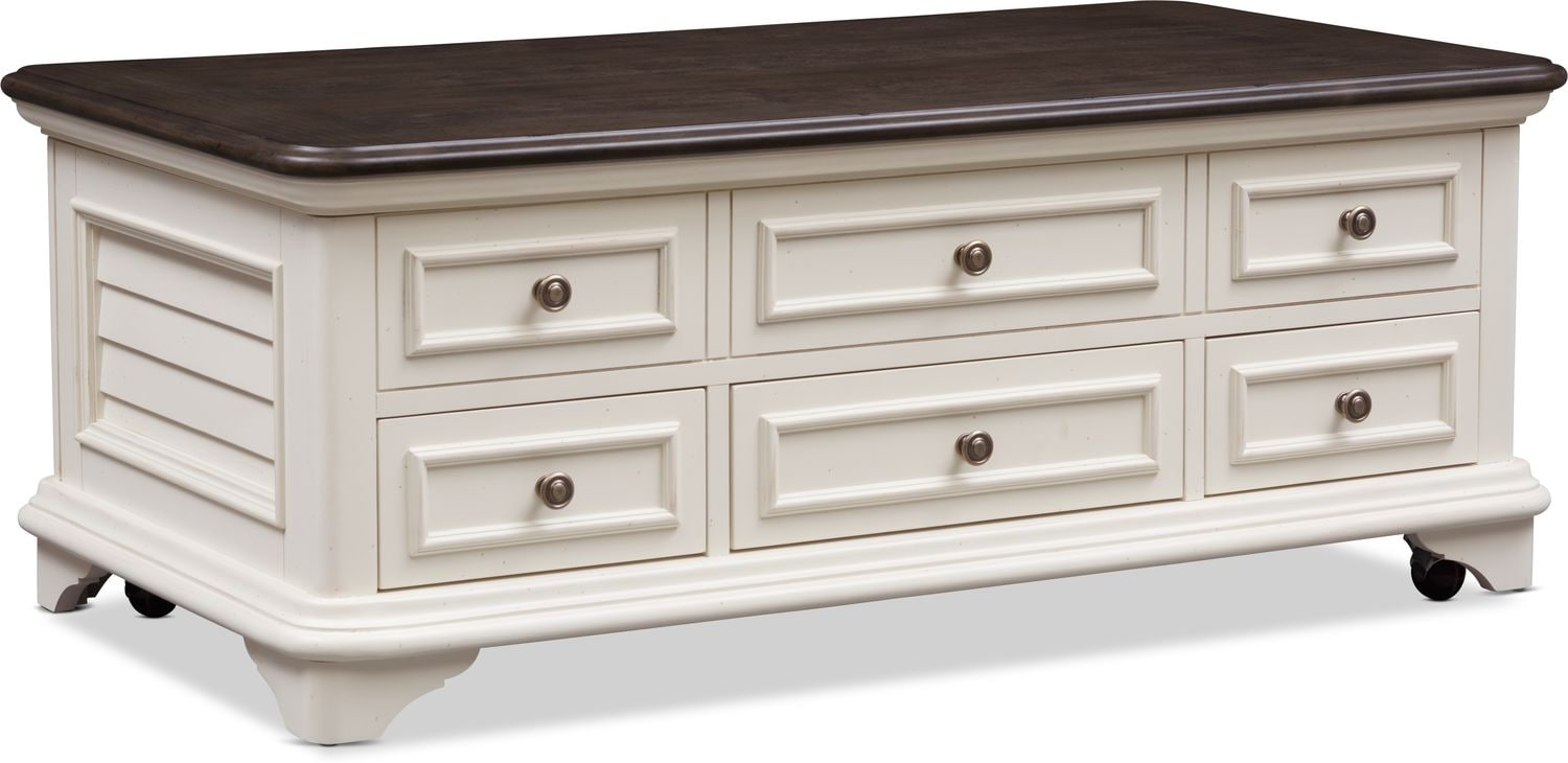 Accent and Occasional Furniture - Charleston Lift-Top Coffee Table