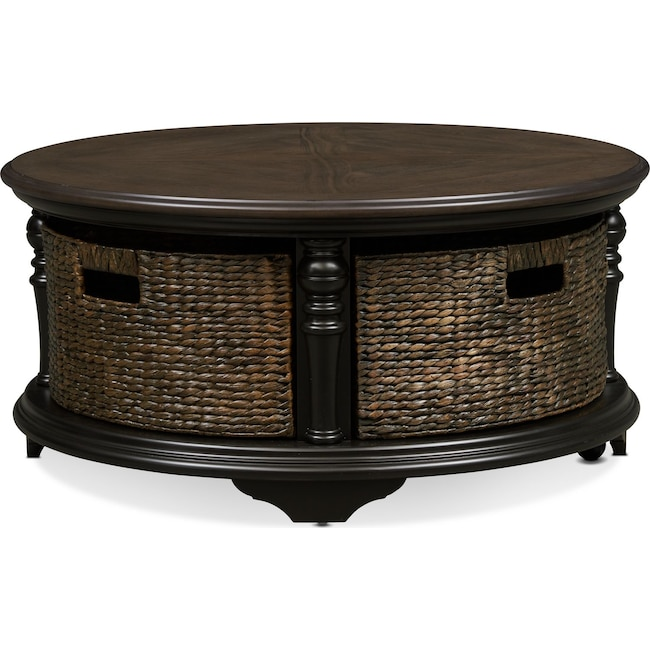 Accent and Occasional Furniture - Charleston Round Coffee Table